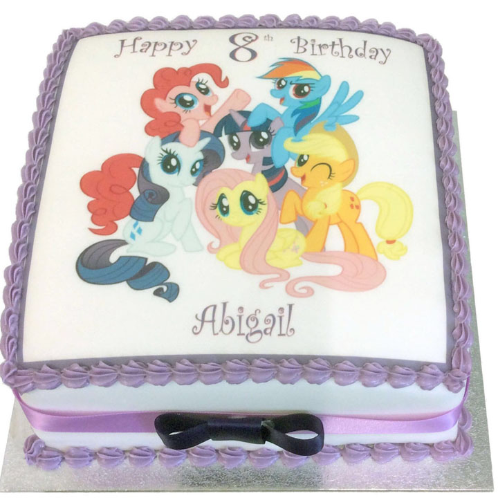 My Little Pony Birthday Cake Flecks Cakes