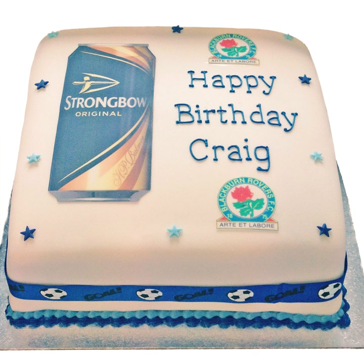 Football & Beer Cake