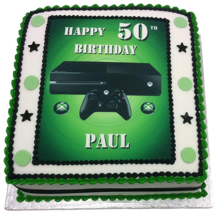 Xbox Console Birthday Cake