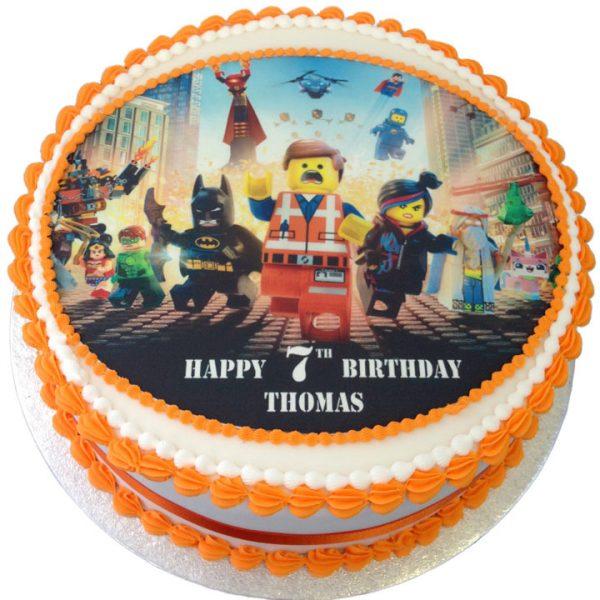 Lego Movie Birthday Cake