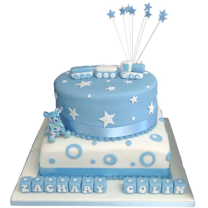 Circles & Stars Cake