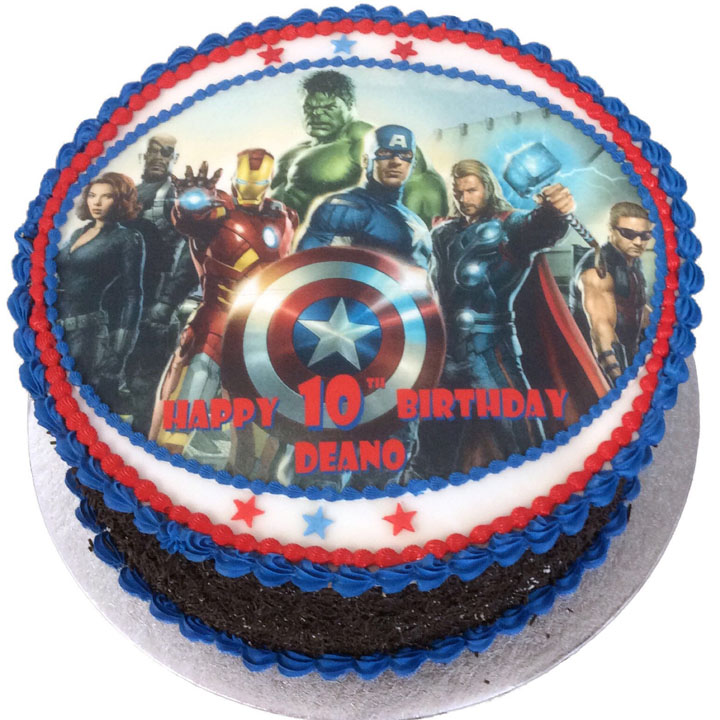 Cool Avengers Movie Birthday Cake Flecks Cakes Funny Birthday Cards Online Kookostrdamsfinfo