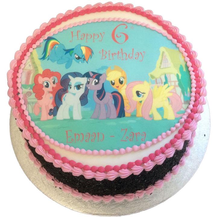 Phenomenal My Little Pony Birthday Cake Flecks Cakes Funny Birthday Cards Online Eattedamsfinfo