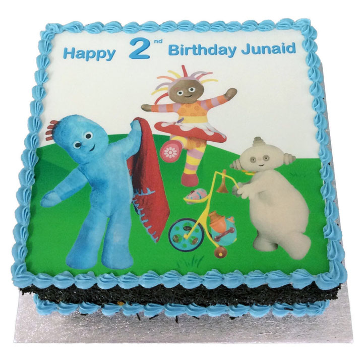 Cool In The Night Garden Birthday Cake Flecks Cakes Funny Birthday Cards Online Overcheapnameinfo