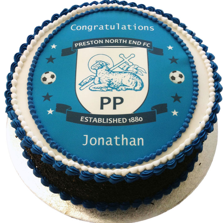 Preston North End Birthday Cake Flecks Cakes