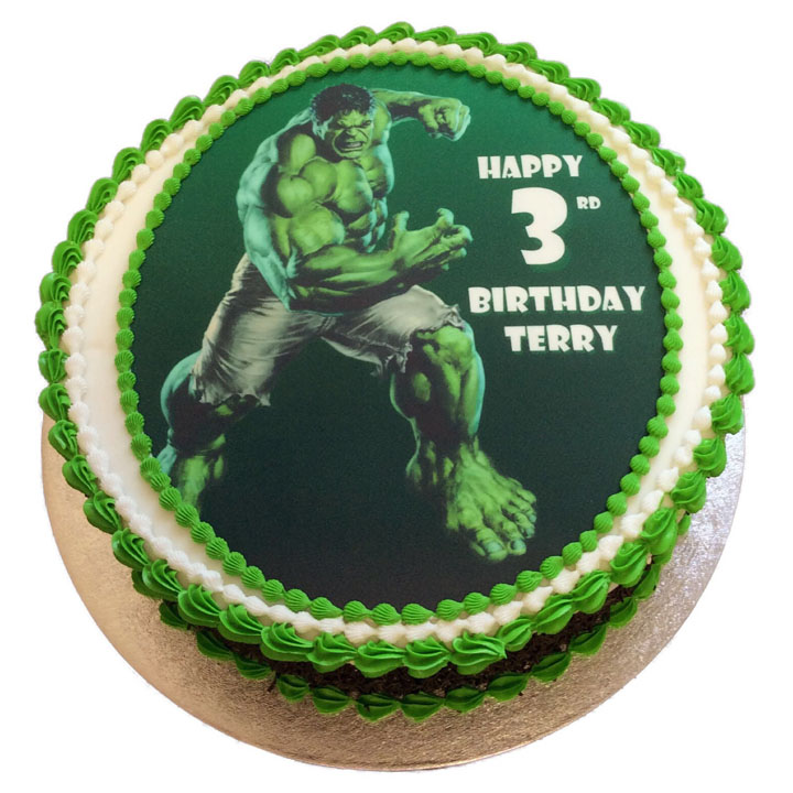 Hulk Birthday Cake Flecks Cakes