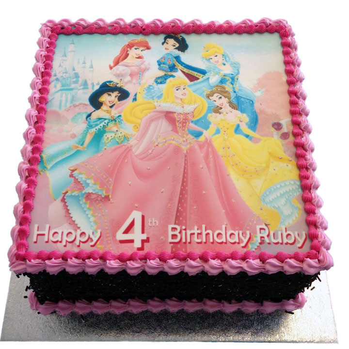 Disney Princess Birthday Cake Flecks Cakes
