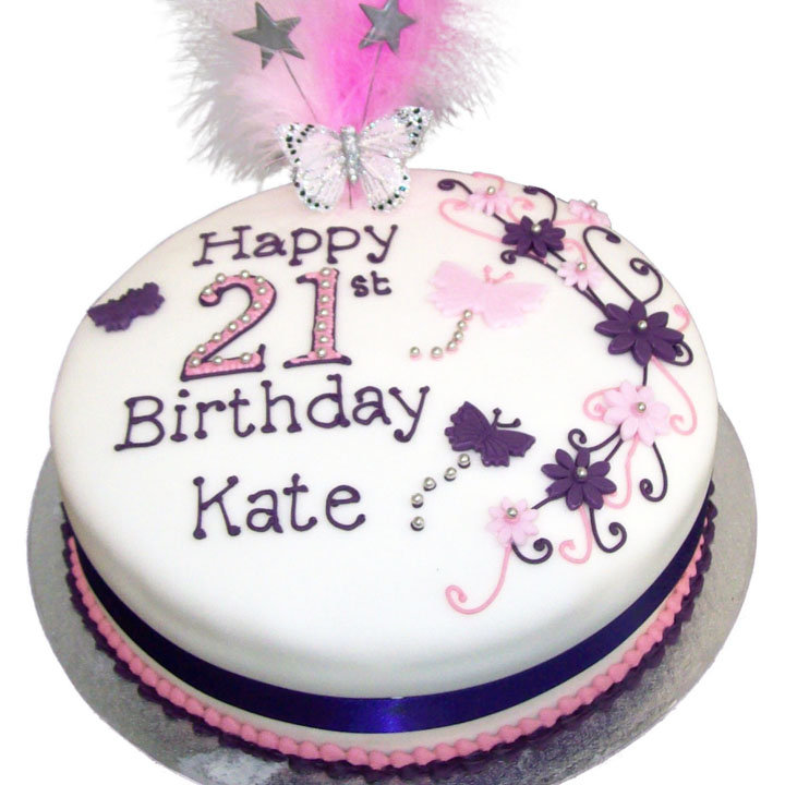 Stupendous Female Birthday Cake Flecks Cakes Funny Birthday Cards Online Alyptdamsfinfo