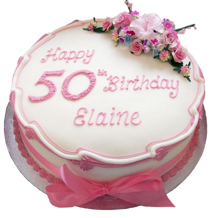 Peachy Female Birthday Cake Flecks Cakes Birthday Cards Printable Opercafe Filternl