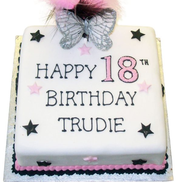 Tremendous Female Birthday Cake Flecks Cakes Funny Birthday Cards Online Elaedamsfinfo