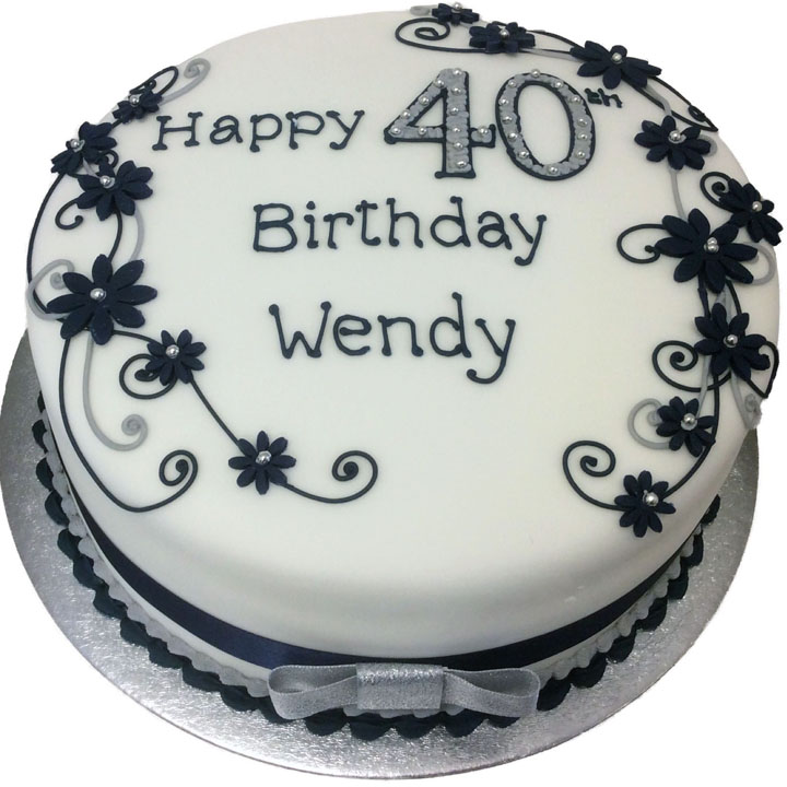 Wondrous Female Birthday Cake Flecks Cakes Funny Birthday Cards Online Alyptdamsfinfo