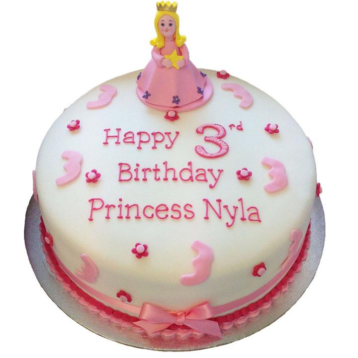 Princess Birthday Cake Flecks Cakes