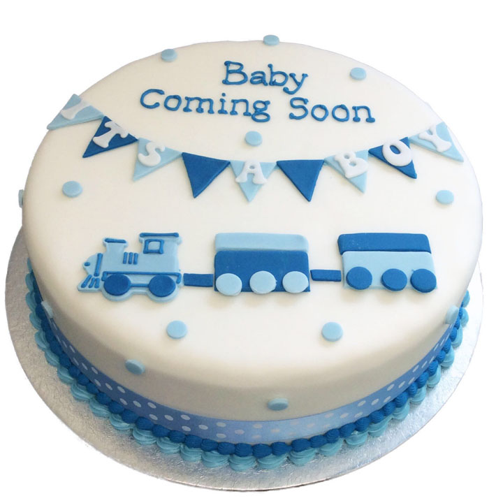 Its A Boy Cake Flecks Cakes