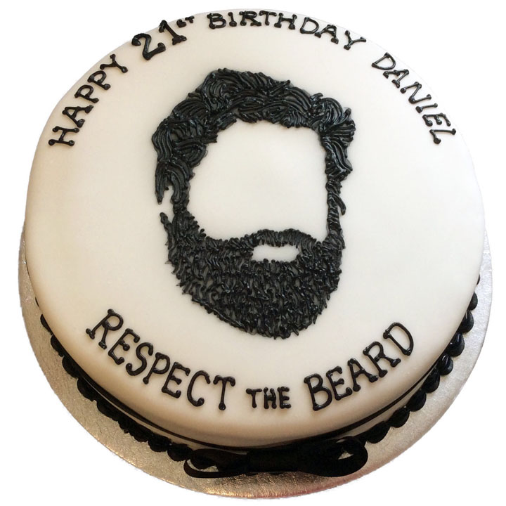 Respect The Beard Cakes Flecks Cakes