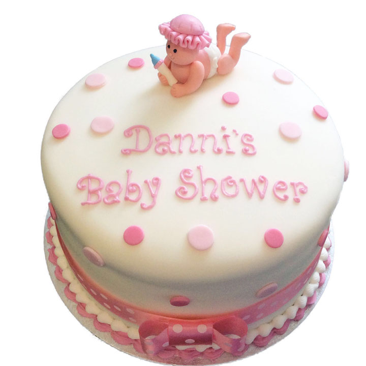 Baby Shower Cake Flecks Cakes
