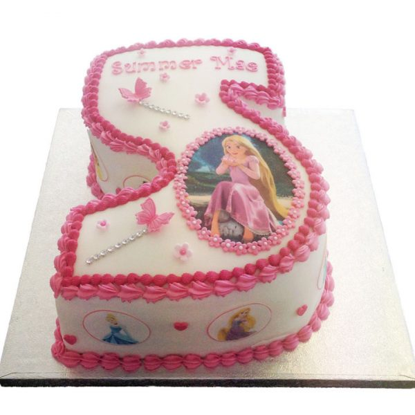 Number 3 Princess Birthday Cake Image Inspiration of Cake and