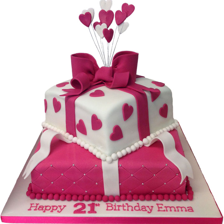 Female Birthday Cake