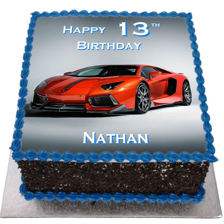 Lamborghini Cakes Images