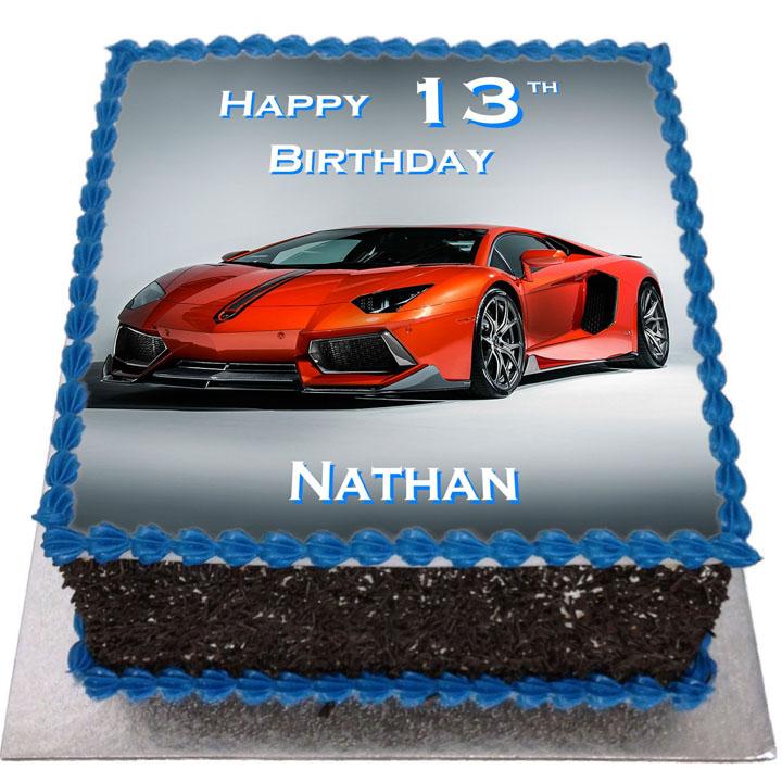 Bugatti Cake Images