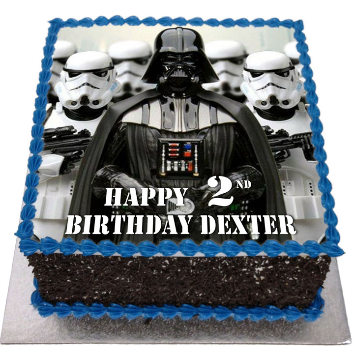 Star Wars Birthday Cake Flecks Cakes