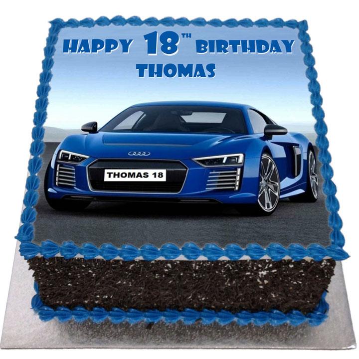 Audi Car Birthday Cakes