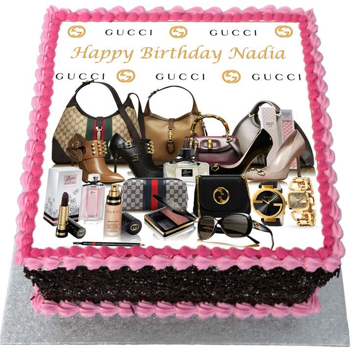 Gucci Birthday Cake