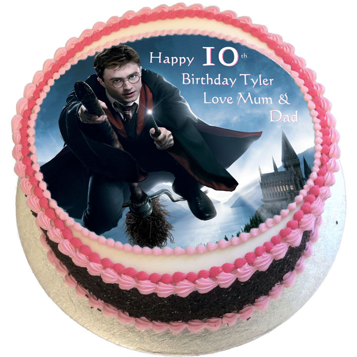 Harry Potter Birthday Cake Flecks Cakes