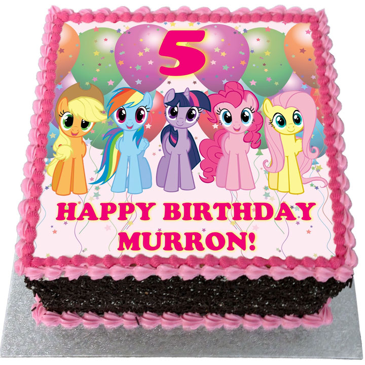 Super My Little Pony Birthday Cake Flecks Cakes Funny Birthday Cards Online Eattedamsfinfo