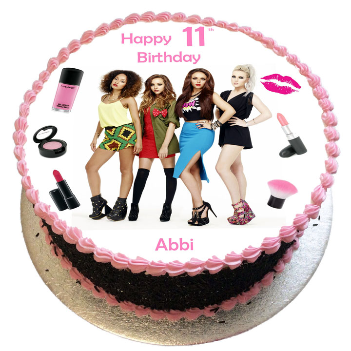 Little Mix Birthday Cake Flecks Cakes