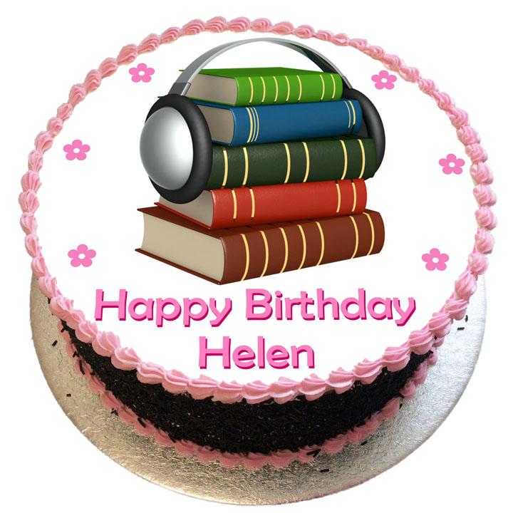 Pleasing Audio Books Birthday Cake Flecks Cakes Funny Birthday Cards Online Alyptdamsfinfo