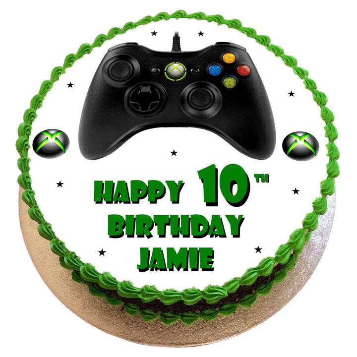 Xbox Controller Birthday Cake Flecks Cakes
