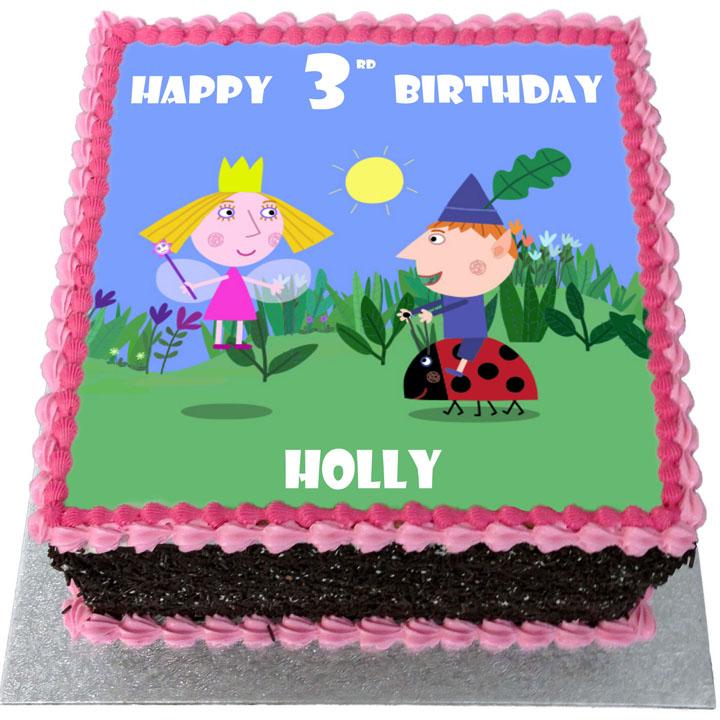 Ben Holly Birthday Cake Flecks Cakes