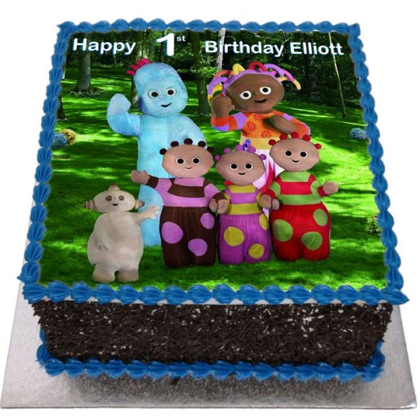 Incredible In The Night Garden Birthday Cake Flecks Cakes Funny Birthday Cards Online Overcheapnameinfo