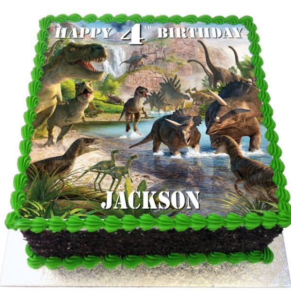 Dinosaurs Cakes Flecks Cakes