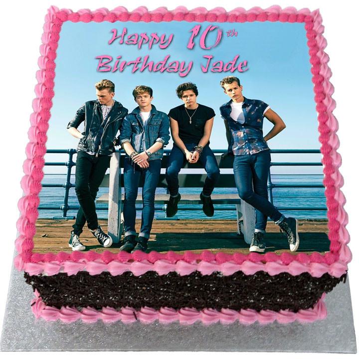 Vamps Birthday Cake