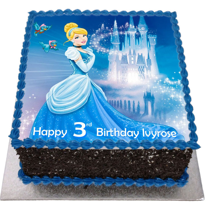 Cinderella Cake For Birthday