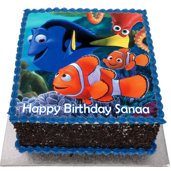 Finding Dory Birthday Cake Flecks Cakes