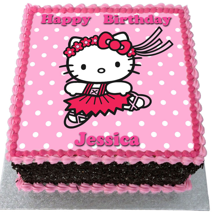 Hello Kitty Birthday Cake Flecks Cakes