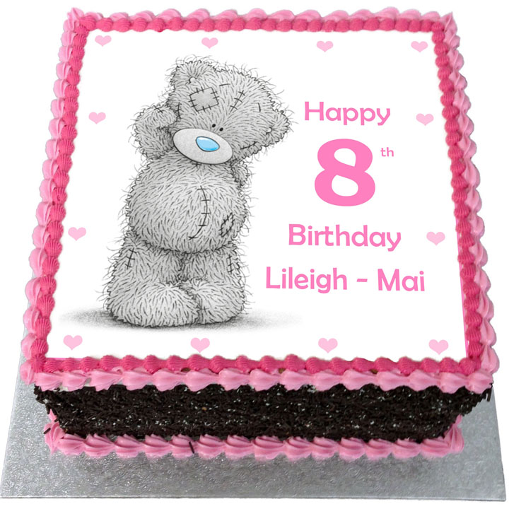 Tremendous Tatty Teddy Birthday Cake Flecks Cakes Funny Birthday Cards Online Drosicarndamsfinfo