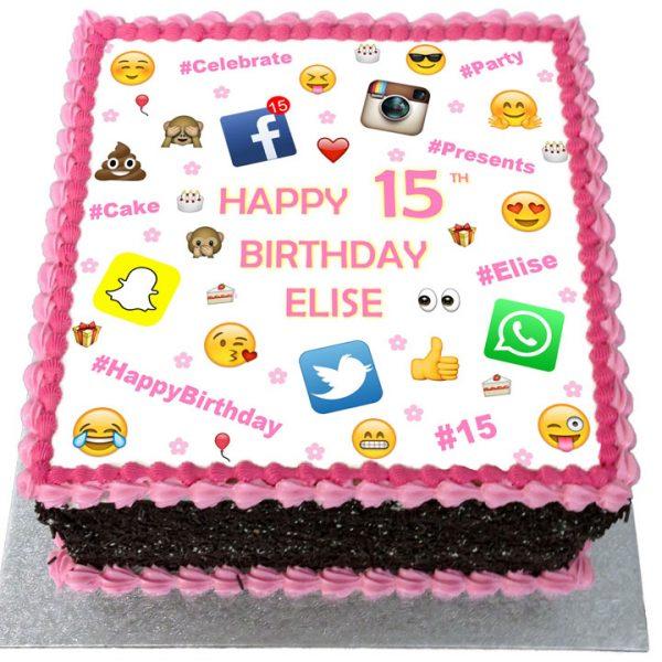 Snapchat Cakes